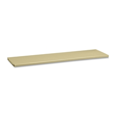 Tennsco Executive Bookcases Extra Shelves - Sand - Steel - Recycled - Assembly Required