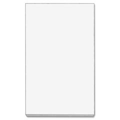 """TOPS White Bond Memo Sheets - 500 Sheets - Plain - Glue - 3"""" x 5"""" - White Paper - 500 / Pack"""