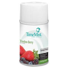 TimeMist Metered Air Freshener Refill - Aerosol - 6000 ft³ - 6.60 oz - Voodoo Berry - 30 Day - 1 Each