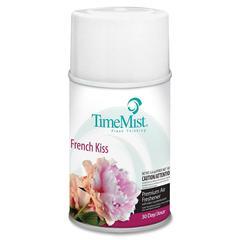 TimeMist Metered Air Freshener Refill - Aerosol - 6000 ft³ - 6.60 oz - French Kiss - 30 Day - 1 Each