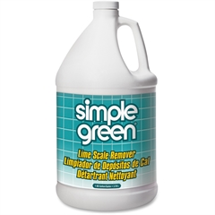Simple Green Lime Scale Remover - Liquid Solution - 1 gal (128 fl oz) - Wintergreen Scent - 1 Each - White