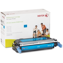 Xerox Remanufactured Toner Cartridge Alternative For HP 642A (CB401A) - Laser - 7500 Page - 1 Each