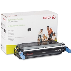 Xerox Remanufactured Toner Cartridge Alternative For HP 643A (Q5950A) - Laser - 11000 Page - 1 Each