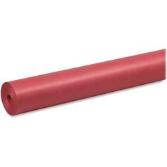 """Pacon Duo-Finish Art Kraft Paper Rolls - 48"""" x 200 ft - 1 / Roll - Scarlet"""