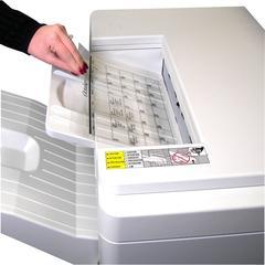 C-Line Plain Paper Copier Transparency Film - Clear, 8-1/2 x 11, 50/BX, 60727
