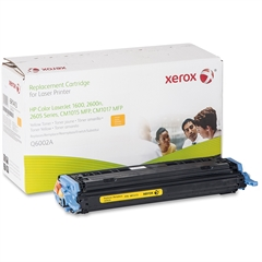 Xerox Remanufactured Toner Cartridge Alternative For HP 124A (Q6002A) - Laser - 2000 Page - 1 Each