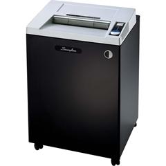 "Swingline® TAA Compliant CX22-44 Cross-Cut Shredder - Continuous Shredder - Cross Cut - 22 Per Pass - for shredding Paper, Staples, Credit Card, CD, DVD, Paper Clip, Staples - 0.19"" x 1.50"" Shred"