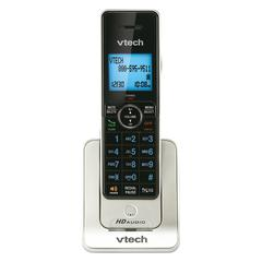 VTech LS6405 Accessory Handset for VTech LS64475-3, Silver - Cordless - Silver, Black