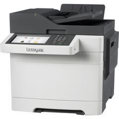 Lexmark CX510DHE Laser Multifunction Printer - Color - Plain Paper Print - Desktop - Copier/Fax/Printer/Scanner - 32 ppm Mono/32 ppm Color Print - 2400 x 600 dpi Print - 32 cpm Mono/32 cpm Color Copy