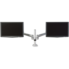"Lorell Mounting Arm for Flat Panel Display - 20"" Screen Support - 44 lb Load Capacity - Aluminum Alloy - Silver"
