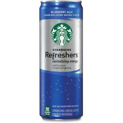 Refreshers Blueberry Acai Energy Drink - Blueberry Acai Flavor - 12 fl oz - Can - 12 / Carton