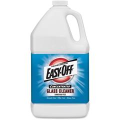 Easy-Off Glass Cleaner - 1 gal (128 fl oz) - Bottle - 1 Each - Dark Blue
