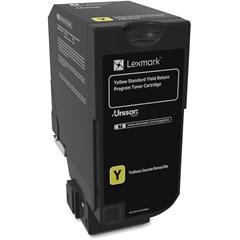 Lexmark Unison Original Toner Cartridge - Yellow - Laser - Standard Yield - 7000 Page
