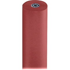 """Pacon Spectra ArtKraft Duo-Finish Paper Roll - 36"""" x 1000 ft - 1 / Roll - Flame - Kraft"""