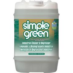 Simple Green Industrial Cleaner/Degreaser - Concentrate Liquid - 5 gal (640 fl oz) - Original Scent - 1 Each - White