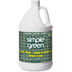 Simple Green Concentrated Carpet Cleaner - Concentrate Liquid - 1 gal (128 fl oz) - 1 Each - White
