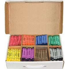 Prang Master Pack Regular Crayons - Assorted - 400 / Box