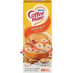Nestlé® Coffee-mate® Hazelnut - Hazelnut Flavor - 0.38 fl oz (11 mL) - 50/Box - 1 Serving