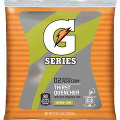 Gatorade Thirst Quencher Powder Mix - Powder - Lemon Lime Flavor - 1.31 lb - 2.50 gal Maximum Yield - 1 / Pack