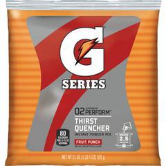 Gatorade Thirst Quencher Powder Mix - Powder - Fruit Punch Flavor - 1.31 lb - 2.50 gal Maximum Yield - 1 / Pack