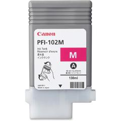 Canon Magenta Ink Tank For imagePROGRAF iPF500, iPF600, and iPF700 Printers - Inkjet - 1 Each