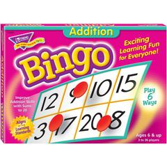 Trend Addition Bingo Game - Theme/Subject: Learning - Skill Learning: Addition, Mathematics