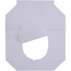 Genuine Joe Half-fold Toilet Seat Covers - Half-fold - 2500 / Carton - White