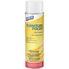 Genuine Joe Lemon Scent Furniture Polish - Spray - 0.13 gal (17 fl oz) - Lemon Scent - 1 Each