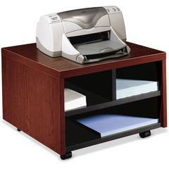 "HON 10500 Series Mobile Printer Cart - 14.1"" Height x 20"" Width x 19.9"" Depth - Mahogany"