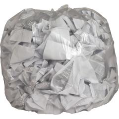 """Genuine Joe Clear Trash Can Liners - 45 gal - 40"""" Width x 46"""" Length x 0.60 mil (15 Micron) Thickness - Low Density - Clear - Film - 250/Carton - Multipurpose"""