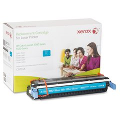 Xerox Remanufactured Toner Cartridge - Alternative for HP 645A (C9731A) - Cyan - Laser - 12000 Page - 1 Each