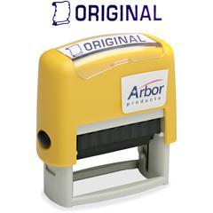 "SKILCRAFT Pre-inked ""Original"" Message Stamp - Message Stamp - ""ORIGINAL"" - 1.63"" Impression Width x 0.50"" Impression Length - 50000 Impression(s) - Blue - 1 Each"