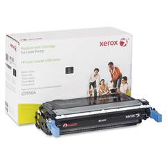 Xerox Remanufactured Toner Cartridge - Alternative for HP 643A (Q5950A) - Black - Laser - 11000 Page - 1 Each
