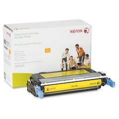 Xerox Remanufactured Toner Cartridge - Alternative for HP 643A (Q5952A) - Yellow - Laser - 10000 Page - 1 Each