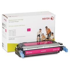 Xerox Remanufactured Toner Cartridge - Alternative for HP 643A (Q5953A) - Magenta - Laser - 10000 Pages - 1 Each