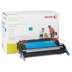 Xerox Remanufactured Toner Cartridge - Alternative for HP 503A (Q7581A) - Laser - 6000 Pages - Cyan - 1 Each
