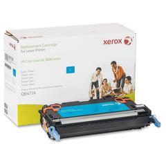 Xerox Remanufactured Toner Cartridge - Alternative for HP 502A (Q6471A) - Cyan - Laser - 4000 Page - 1 Each