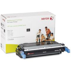 Xerox Remanufactured Toner Cartridge - Alternative for HP 642A (CB400A) - Black - Laser - 7500 Page - 1 Each