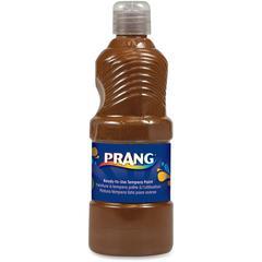 Prang Liquid Tempera Paint - 16 fl oz - 1 Each - Brown