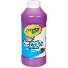 Crayola Washable Paint - 16 oz - 1 Each - Violet