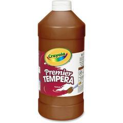 Crayola 32 oz. Premier Tempera Paint - 2 lb - 1 Each - Brown