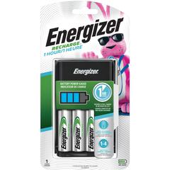 Eveready Recharge Battery Charger - 1 Hour Charging - 4 - AA, AAA