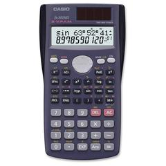 Casio FX300MS 10-dgt 2-line Scientific Calculator - 229 Functions - 2 Line(s) - 12 Digits - Battery/Solar Powered - 1 Each