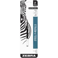 F-Series Pen Refill - 0.70 mm, Fine Point - Black Ink - 1 Pack