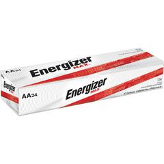 Energizer Max Alkaline AA Batteries - AA - Alkaline - 1.5 V DC - 144 / Carton