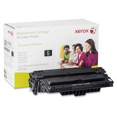 Xerox Remanufactured Toner Cartridge - Alternative for HP 16A (Q7516A) - Laser - 12000 Pages - Black - 1 Each