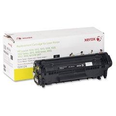 Xerox Remanufactured Toner Cartridge - Alternative for HP 12A (Q2612A) - Black - Laser - 2000 Pages - 1 Each