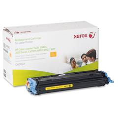 Xerox Remanufactured Toner Cartridge - Alternative for HP 124A (Q6002A) - Yellow - Laser - 2000 Pages - 1 Each