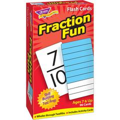 Trend Fraction Fun Flash Cards - Educational