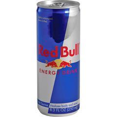 Red Bull Energy Drink - Ready-to-Drink - Original Flavor - 8.30 fl oz (245 mL) - 24 / Carton